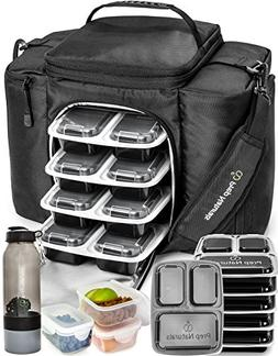 Meal Prep Bag Meal Prep Containers 3 Compartment  Meal Prep