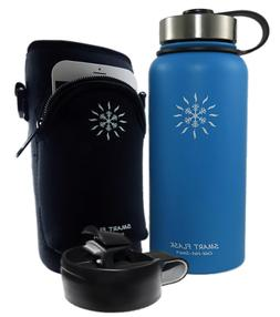 New Blue Smart Flask 32 oz Vacuum Insulated Stainless Steel