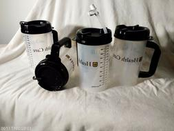 New Lot of 4, 32 OZ Whirley TM-32 Thermo Hospital Mug with S