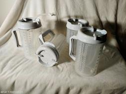 New Lot of 4, 32 OZ Whirley TM-32 Thermo Hospital Mug with P