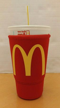 NEW McDonald's JAVA SOK Large | 32oz Insulated Neoprene Kooz