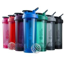BlenderBottle PRO32 Shaker Blender Bottle Wisk Mixer Cup Pro