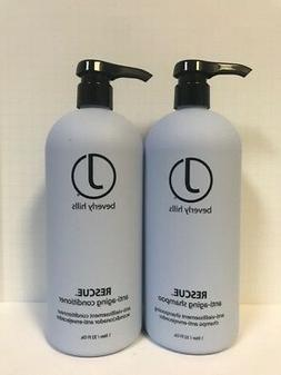 J BEVERLY HILLS RESCUE ANTI AGING SHAMPOO & CONDITIONER SET