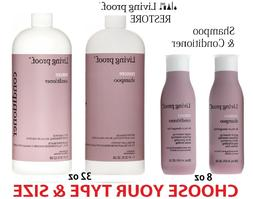 Living Proof RESTORE Shampoo /Conditioner /Combo  -CHOOSE TY