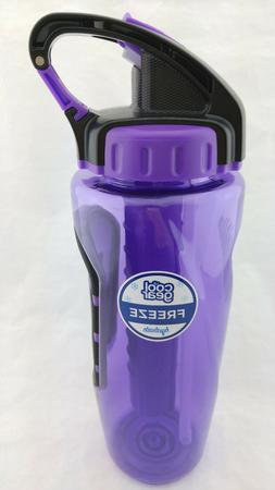 Cool Gear 32oz. Sahara Freezer Stick Water Bottle Tritan BPA