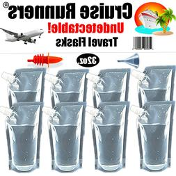 Cruise Ship Flask Kit Rum Runners For Cruise Smuggle Sneak A