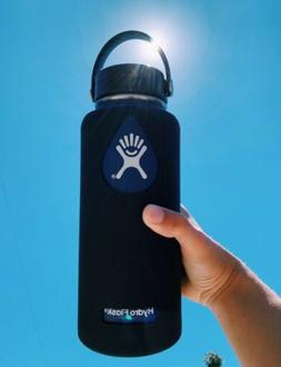 *SILICONE SLEEVE ONLY* for Hydro Flask Water Bottles  - Blac