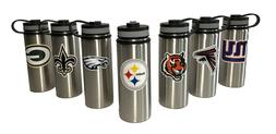 Stainless Steel Water Bottles. 18oz & 32oz. Vacuum Insulated