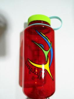 Nalgene Tritan 32oz Plastic Water Bottle Wide Mouth BPA-Free
