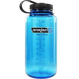 Nalgene Tritan Wide Mouth BPA-Free Water Bottle, Red w/ Blac