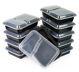 Table To Go 50-Pack Bento Lunch Boxes with Lids    Microwave