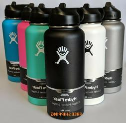 HYDRO FLASK WIDE MOUTH 32 OZ. BOTTLE WITH STRAW LID - COLOR:
