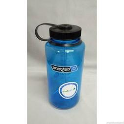 Nalgene Wide Mouth 32oz BPA Free Tritan Water Bottle Slate B