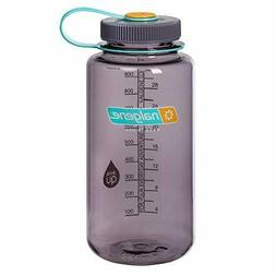Nalgene Wide Mouth 32oz Loop Top Water Bottle Aubergine w/Au